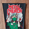 Metal Church - Fake Healer - Vintage Back Patch 1990
