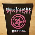 Onslaught - The Force - vintage backpatch