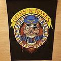 Guns N' Roses - Civil War - vintage backpatch