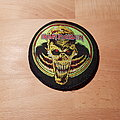 Iron Maiden - Patch - Iron Maiden - Live Donington - vintage patch