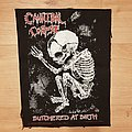 Cannibal Corpse - Patch - Cannibal Corpse - Butchered At Birth - backpatch