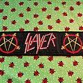 Slayer - Patch - Slayer - logo - superstrip patch