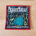 Agent Steel - Patch - Agent Steel - Unstoppable Force - red border patch