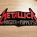 Metallica - Patch - Metallica - Master Of Puppets - big shape patch