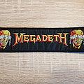 Megadeth - superstrip - patch