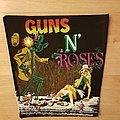 Guns N' Roses - Appetite For Destruction - vintage backpatch