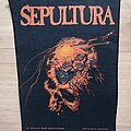 Sepultura - Patch - Sepultura - Beneath The Remains - backpatch