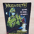 Megadeth - Patch - Megadeth - So Far, So Good, So What - backpatch
