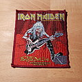 Iron Maiden - Patch - Iron Maiden - Fear Of The Dark Live - red border vintage patch