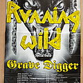Running wild - Welcome To Black Hand Inn Tour 1994 - tour poster