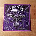 King Diamond - Patch - King Diamond - The Eye - purple border patch