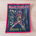 Iron Maiden - Patch - Iron Maiden - Somewhere In Time - red border patch