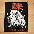 Morbid Angel - Patch - Morbid Angel - Altars Of Madness - backpatch