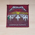 Metallica - Patch - Metallica - Master Of Puppets - red border patch