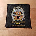 Iron Maiden - Patch - Iron Maiden - Eddie square - patch