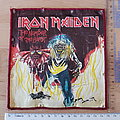 Iron Maiden - Patch - Iron Maiden - Number Of The Beast - red broder oversized patch