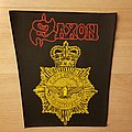 Saxon - Strong Arm Of The Law - vintage backpatch
