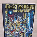 Iron Maiden - Patch - Iron Maiden - Somewhere In Time - short version backpatch