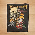 Megadeth - Patch - Megadeth - Peace Sells... But Who's Buying? - backpatch v1