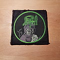 Death - Leprosy - square green circle patch