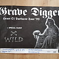 Grave Digger - Other Collectable - Grave Digger - Heart Of Darkness Tour '95 - poster