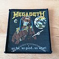 Megadeth - Patch - Megadeth - so far, so good... so what! - patch
