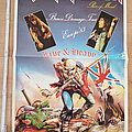 Iron Maiden - Other Collectable - Iron Maiden - Piece Of Mind Brain Damage Tour Europe '83 - poster