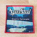 Agent Steel - Patch - Agent Steel - Skeptics Apocalypse - red border patch
