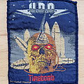 U.D.O. - Timebomb - blue border patch