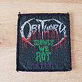 Obituary - Slowly We Rot - patch