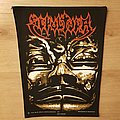 Sepultura - Aztec Mask - vintage backpatch