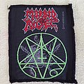 Morbid Angel - green pentagram - vintage patch