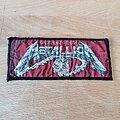 Metallica - Patch - Metallica - Creeping Death - ministrip patch