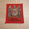 Slayer - Patch - Slayer - Seasons In The Abyss - red border patch