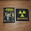 Anthrax & Megadeth patches for A_Link_To_Metal