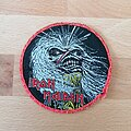 Iron Maiden - Patch - Iron Maiden - Live After Death - red border patch
