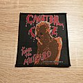Cannibal Corpse - Patch - Cannibal Corpse - Tomb Of The Mutilated - patch