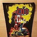 Dio - Warrior - vintage backpatch