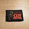 Ozzy Osbourne - Patch - Ozzy Osbourne - The Ultimate Sin Tour 1986 - patch
