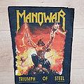 Manowar - Triumph Of Steel - backpatch