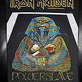 Iron Maiden - Patch - Iron Maiden - Powerslave - backpatch
