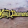 King Diamond - logo superstrip - patch