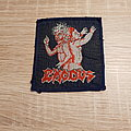 Exodus - Patch - Exodus - Bonded By Blood - blue border patch