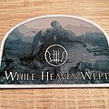 While Heaven Wept - Patch - While Heaven Wept - Of Empires Forlorn - white border patch