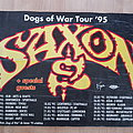 Saxon - Other Collectable - Saxon - Dogs Of War Tour '95 - poster