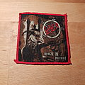 Slayer - Patch - Slayer - Reign In Blood - red border patch