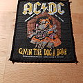 AC/DC - Patch - AC/DC - Givin The Dog A Bone - patch