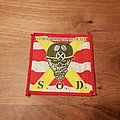 S.O.D. - Stormtroopers Of Death - red/yellow red border patch