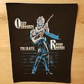 Ozzy Osbourne - Tribute To Randy Rhoads - vintage backpatch