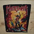 Manowar - Kings of Metal - vintage backpatch